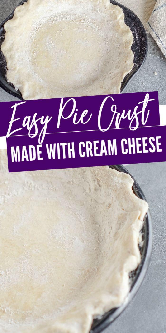 Easy Pie Crust Recipe with Cream Cheese! - Lemon Peony