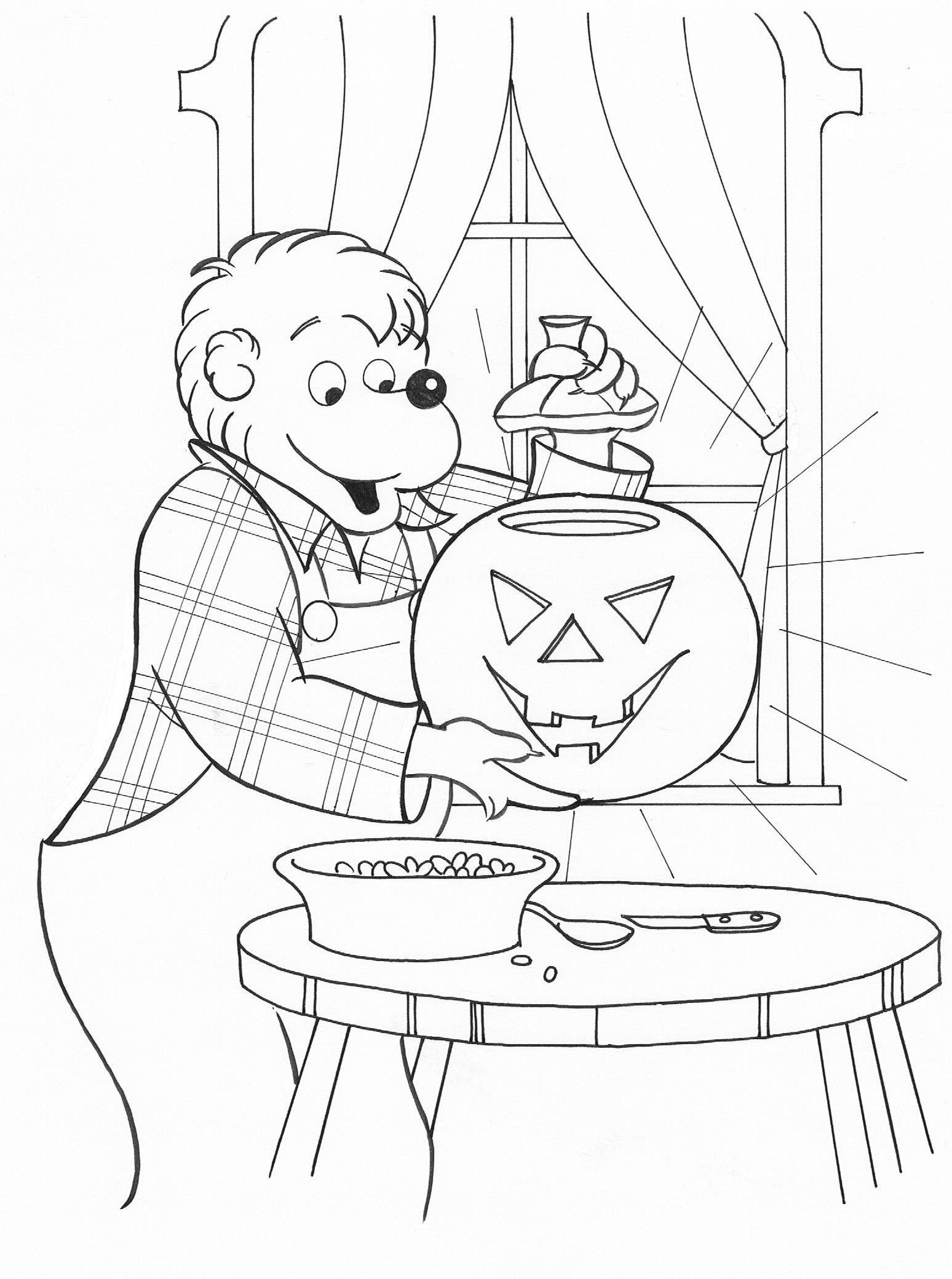 Halloween Coloring 6 Image Pixels