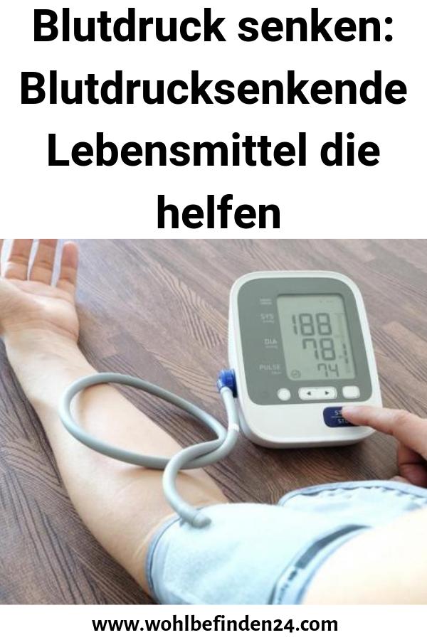 Blutdruck senken: Blutdrucksenkende Lebensmittel die..
