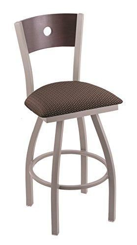 Xl 830 Voltaire 30 Bar Stool With Anodized Nickel Finish Axis Truffle Seat Dark Cherry Maple Back And 360 Swivel In 2020 Bar Stools 30 Bar Stools Stool