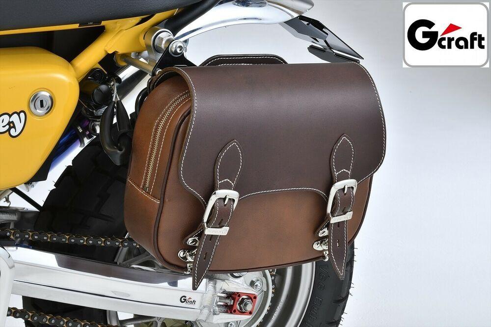 New G Craft X Degner 31281 Saddle Bag Brown Honda Monkey 125 Direct Japan Gcraft クロスカブ サドルバッグ カブ110