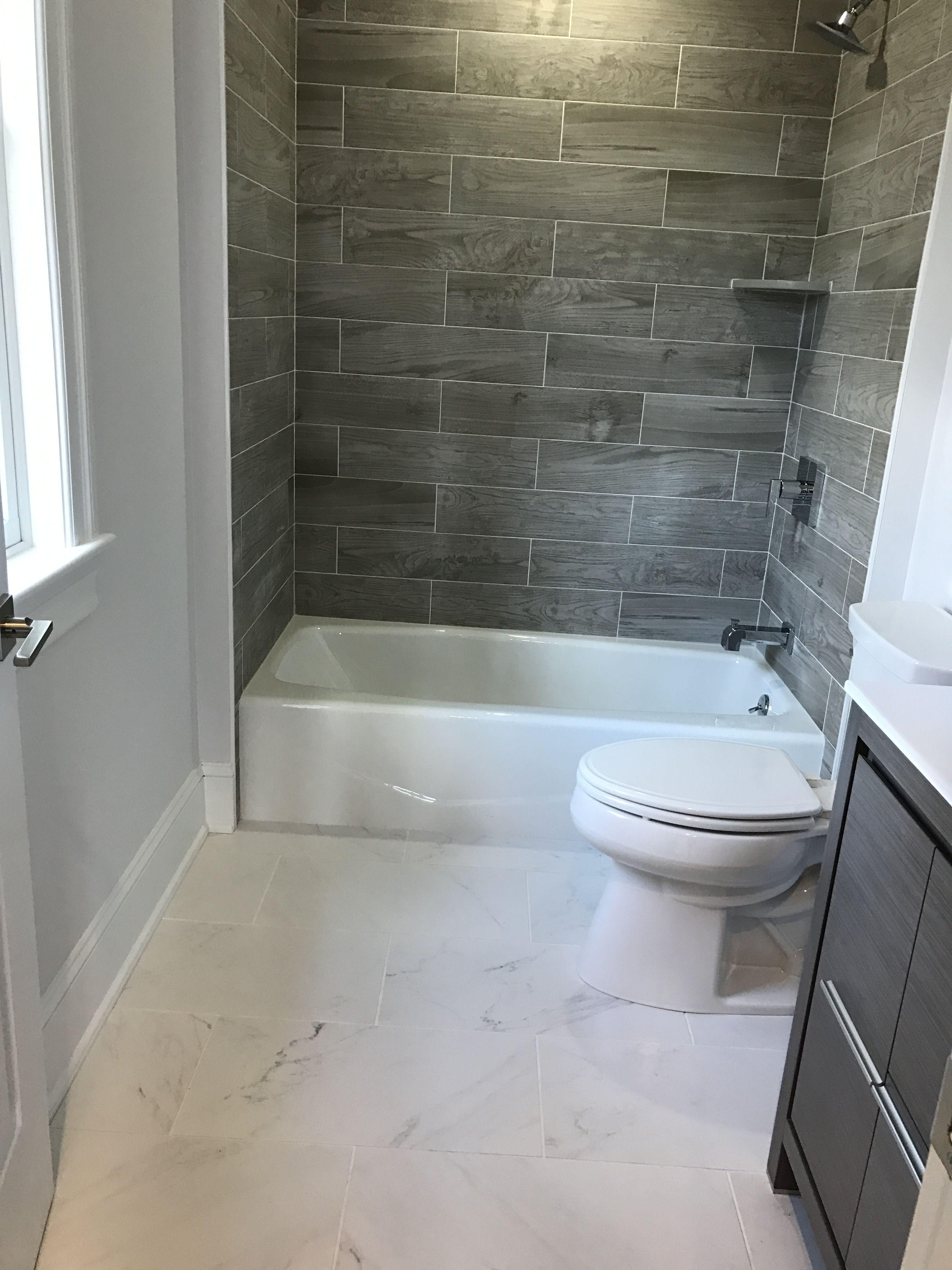 Like The Vanity Modern Small Bathroom Makeover Bathroom