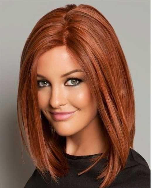 Frisuren lang farbe