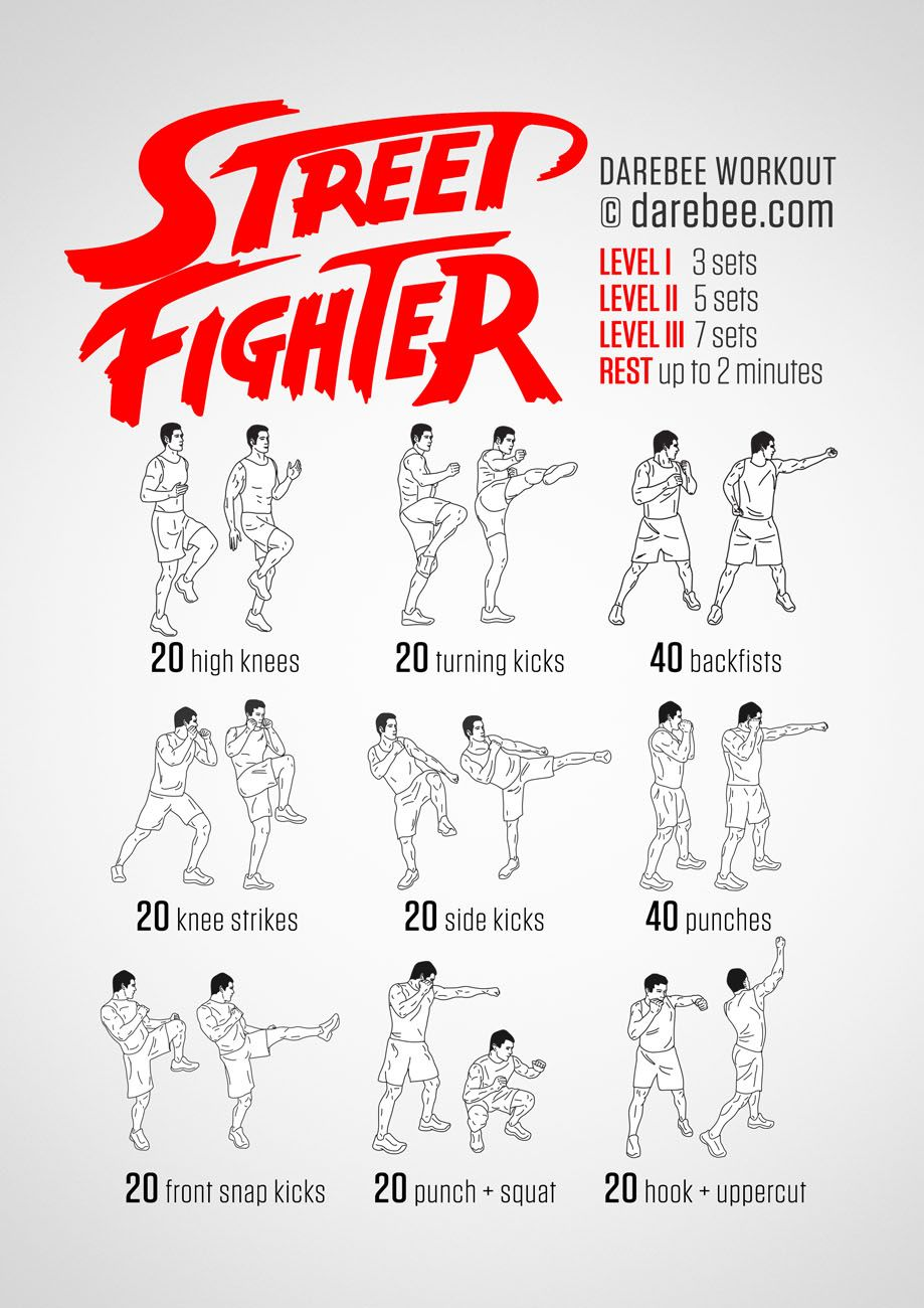 Train like a Street Fighter and gain speed and power as ...