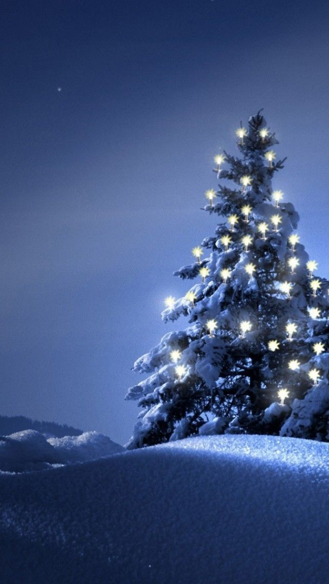 iPhone Wallpaper - Christmas tjn | Blauw Kerst | Pinterest | Blau ...