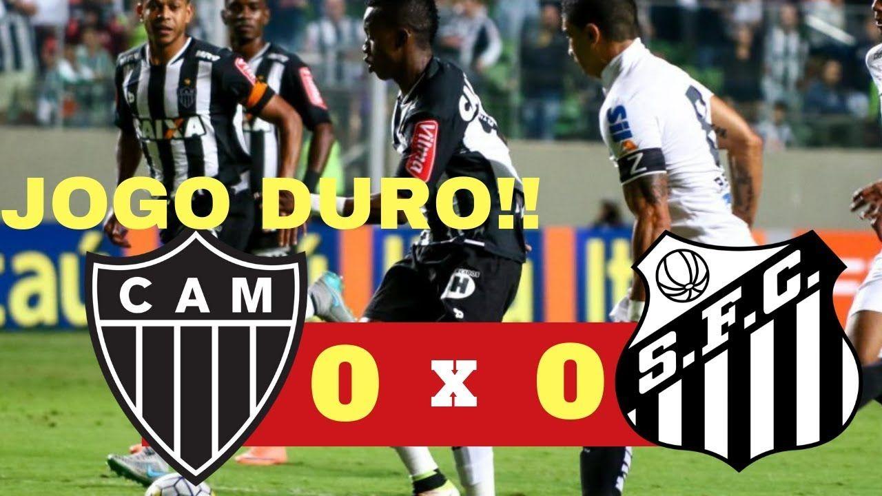Atlético MG 0 x 0 Santos Melhores Momentos Copa do