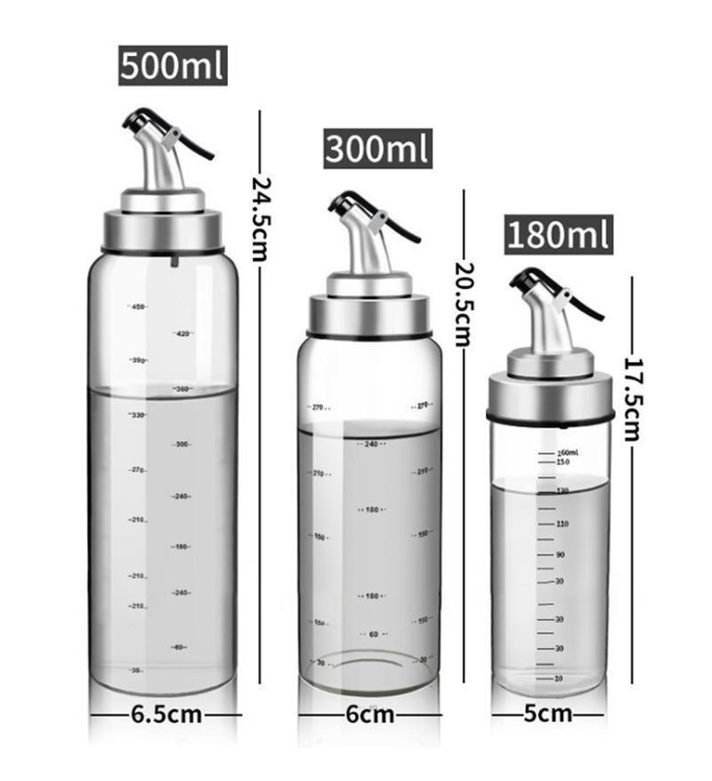 kitchen oil dispenser bottles for olive oil vinegar condiments sauce storage glass bottles with on kitchen organization oil and vinegar id=62995