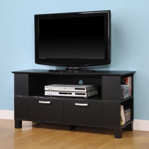 Flat Screen Televisions Wood Console TV Stand Mount Furniture Media Storage  New | EBay