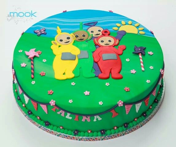 Teletubbie Cake Tortai Teletubbies Cake Teletubbies