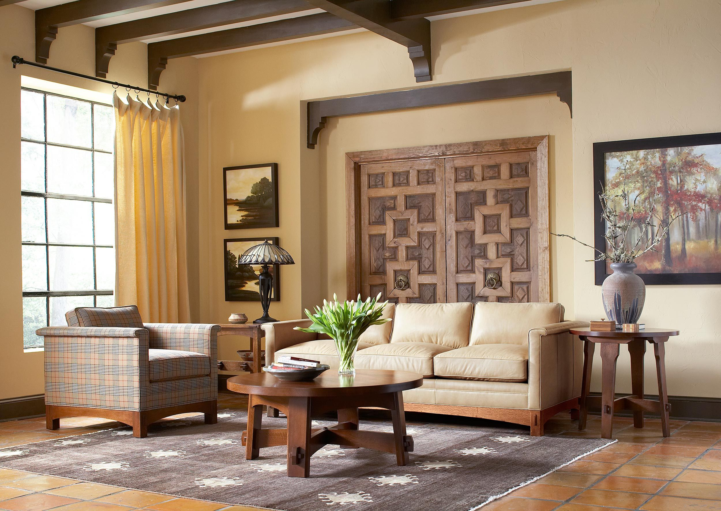 Stickley Furniture Park Ridge Sofa U0026 Chair