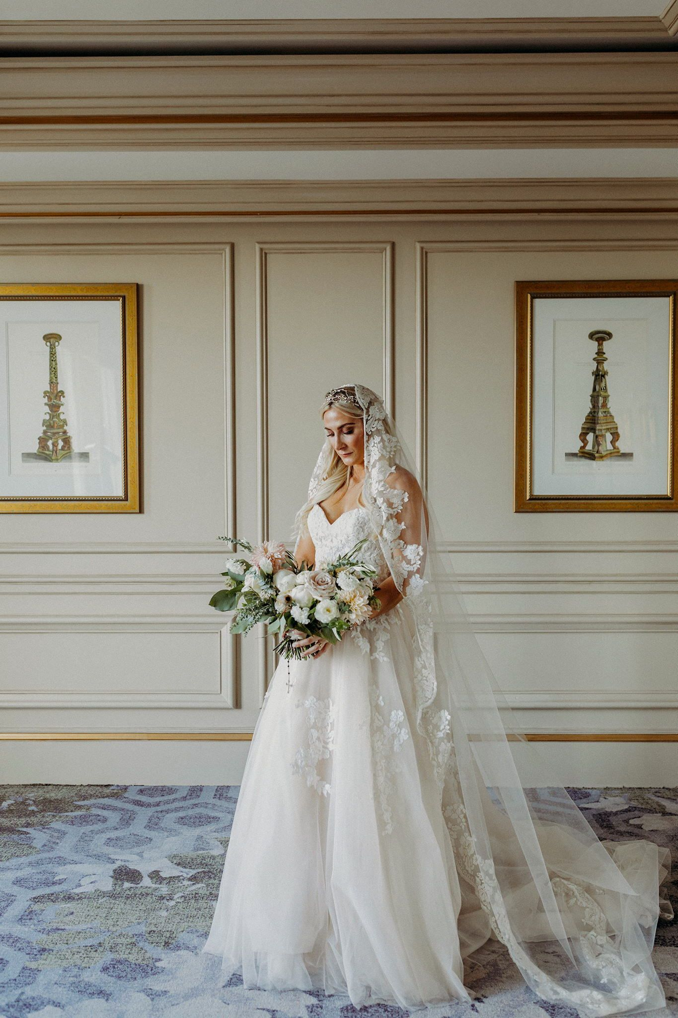 7b1a8d8ac8a9a classy french inspired new orleans wedding mantilla veil new orleans wedding  photographer kristen soileau portraits night photo indoor photography  elegant ...