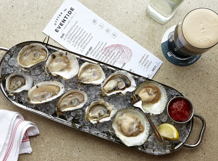 Eventide Oyster Co. - Oysters on Half Shell (Image Credit: Zack Bowen)