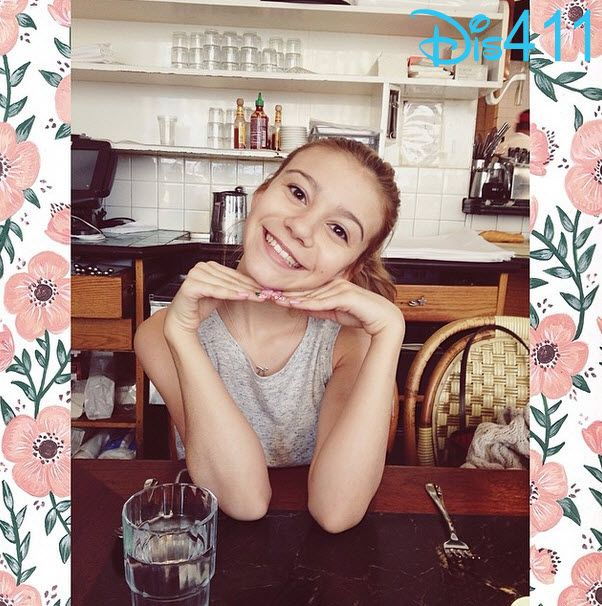 Photo: G Hannelius Brunch In New York City April 13, 2014