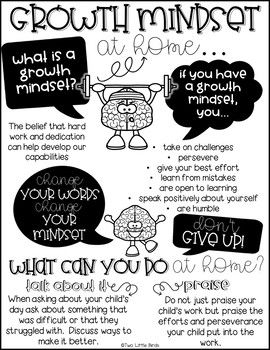 Growth Mindset Activities: Posters, Bulletin Board, Flip