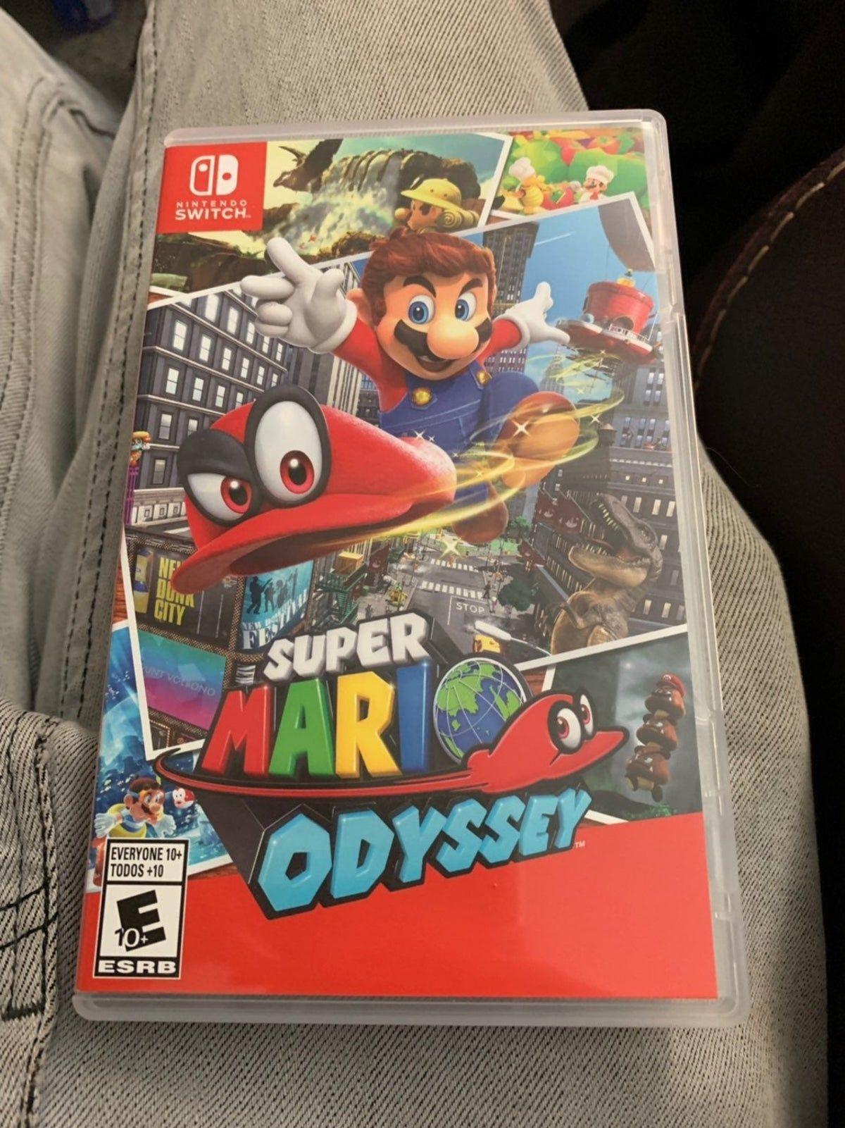 Super Mario Odyssey Nintendo Switch In 2020 Super Mario Nintendo Switch Games Game Character Design