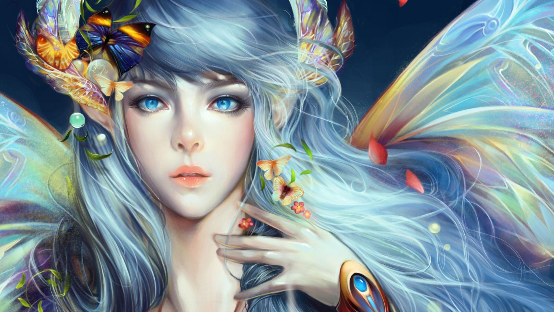Art color hair - Fairy