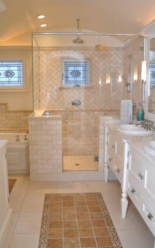 48 Beige Bathroom Tiles Ideas And Pictures Parents House Remodel Adorable Beige Tiled Bathrooms Set
