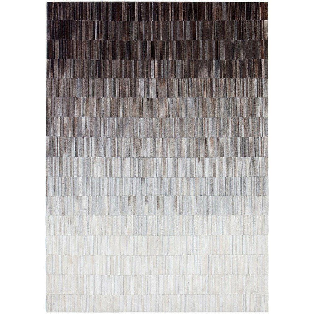 Linie Design Fade Grey Cowhide Rug