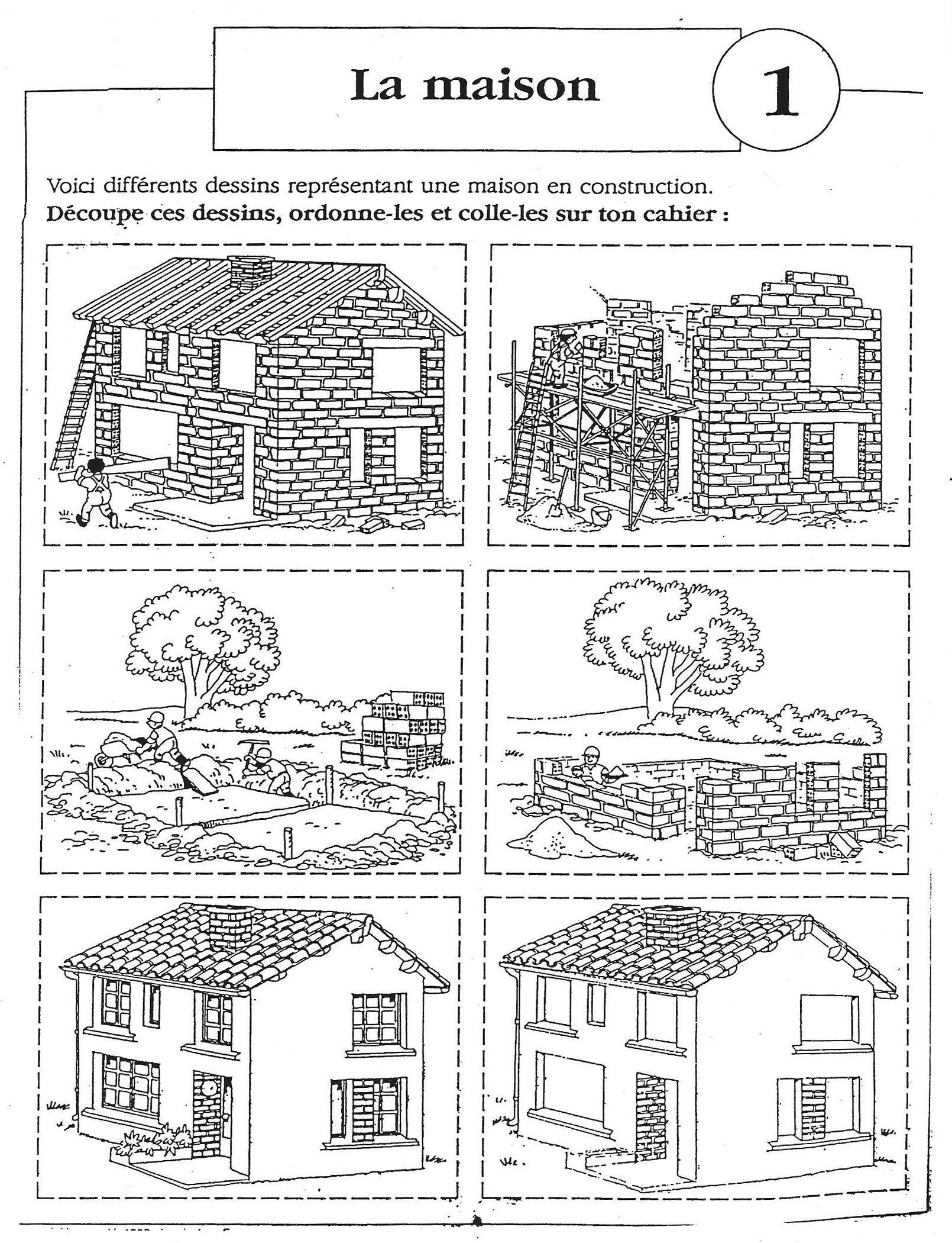 images s quentielles la construction de la maison 6