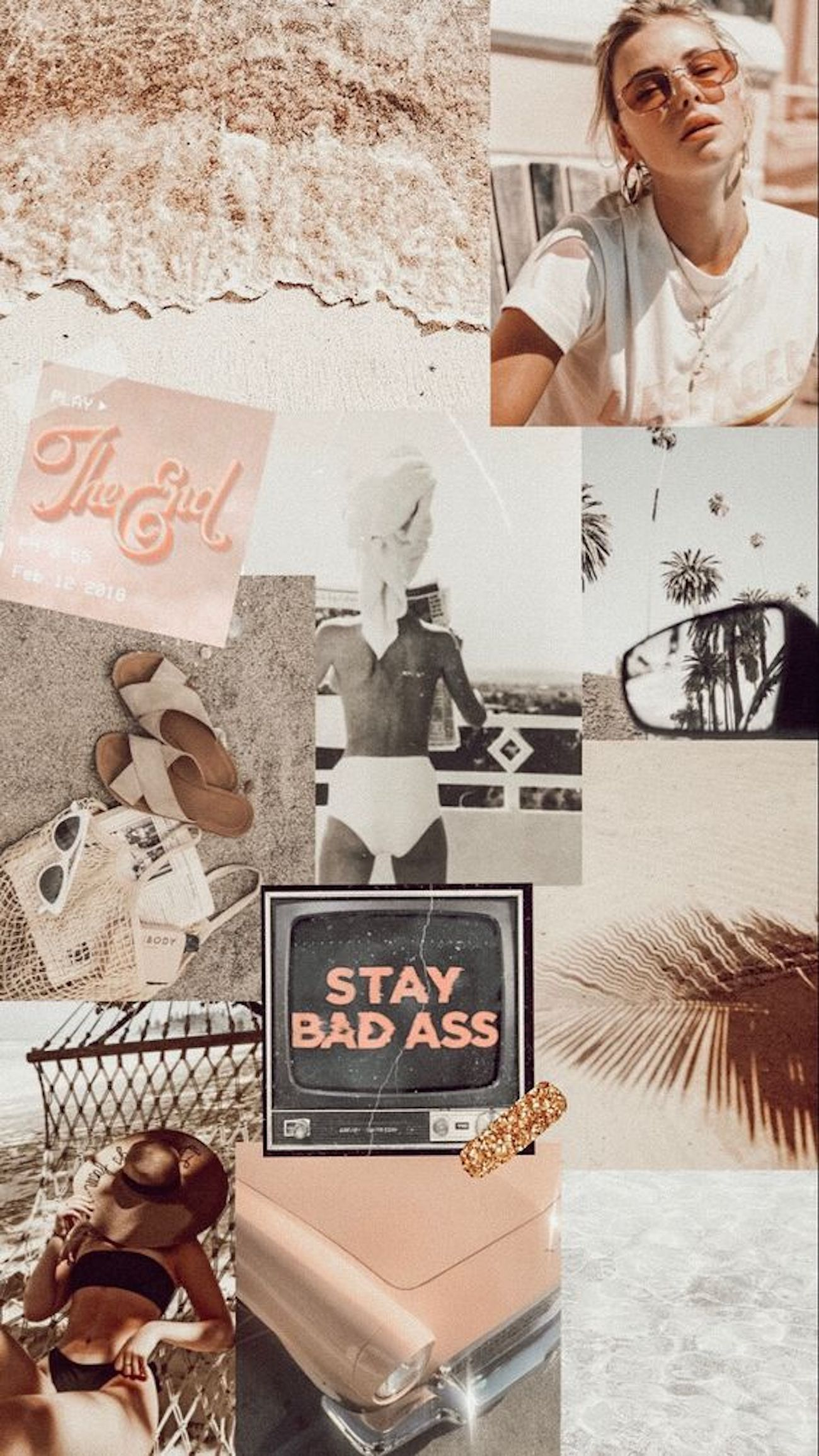 Aesthetic Collage Wallpaper Simple #aesthetic