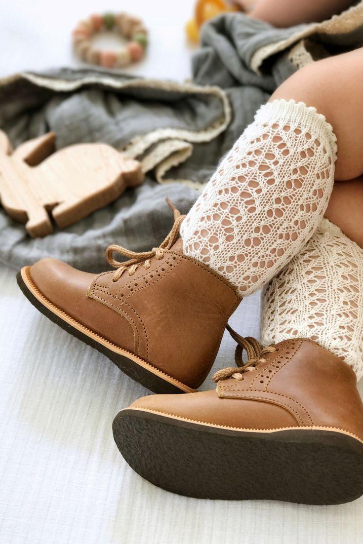 #goingoutoutfits Die Leder-Paseo-Stiefel von Adelisa & Co für Kleinkinder und K...