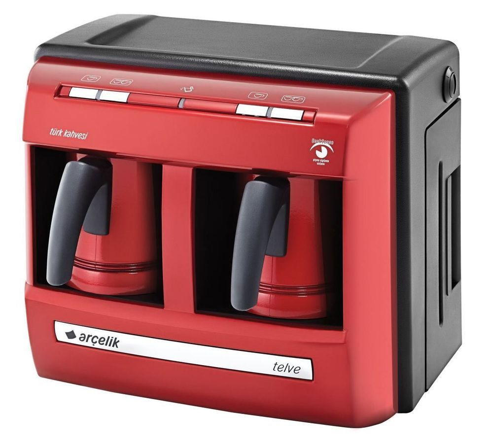 Beko/Arcelik Turkish Coffee Espresso Maker Automatic Water Reservoir - 220V #Arcelik  #red #special #ChristmasGift