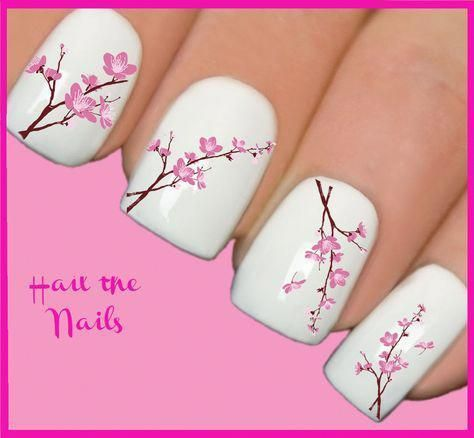 fun nail art for kids springnails  flower nails flower