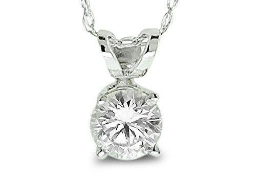 Pendentif diamant 2 carat