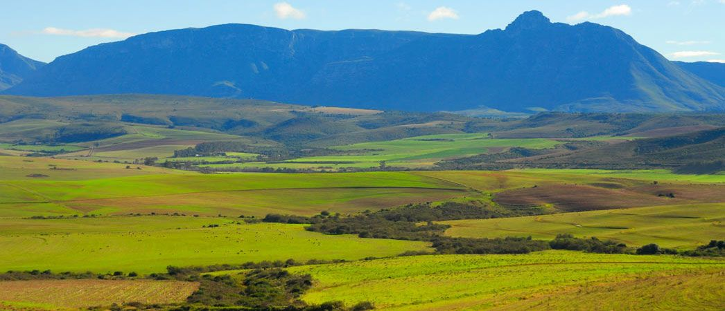 Sleeping Beauty Mountain Near Riversdale South Africa South