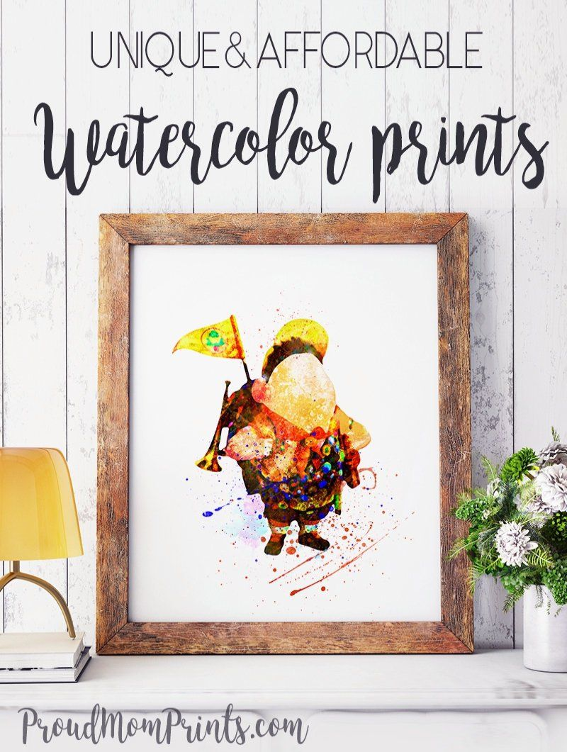 Decor Up Theme Printable Up Party Up Movie Nursery Party Decor Up Pixar Pixar Party Printable Wall Art