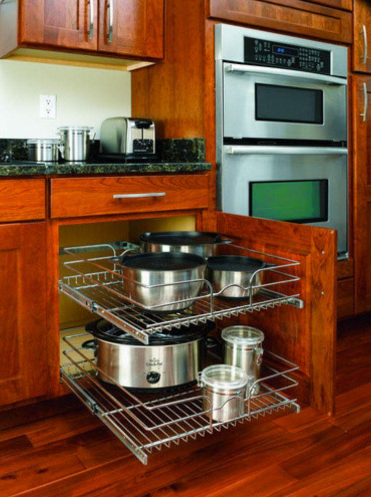 Rev-A-Shelf In-Cabinet Chrome Organizer by Lowe's - I like ...