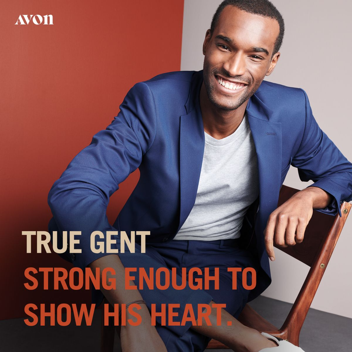 For The Man Who Is Strong Enough To Show His Heart True Gent Captures The Fresh Scent Of Laurel Leaf Tobacco And Suede Which Wi Avon Avon Fragrance Avon True