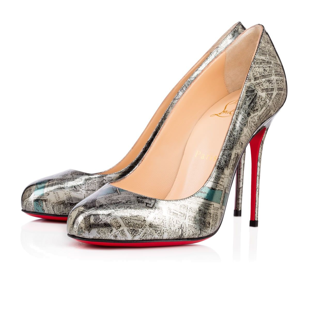 8f27e5bc4ea97 CHRISTIAN LOUBOUTIN Fifi Specchio Plan De Paris 100 Multicolor  Specchio Laminato - Women Shoes - Christian Louboutin.  christianlouboutin   shoes