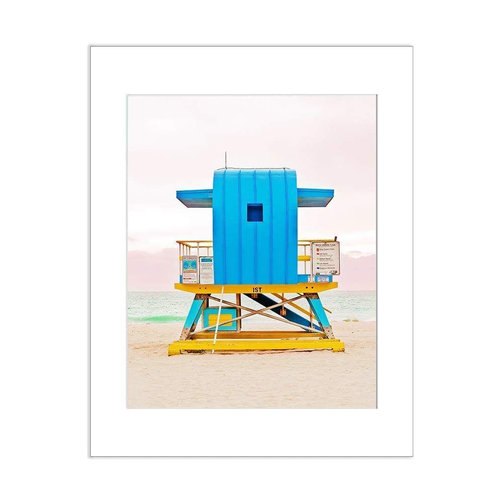 Amazon Com Miami Beach Ocean Surf Photo Lifeguard Stand 5x7 Inch