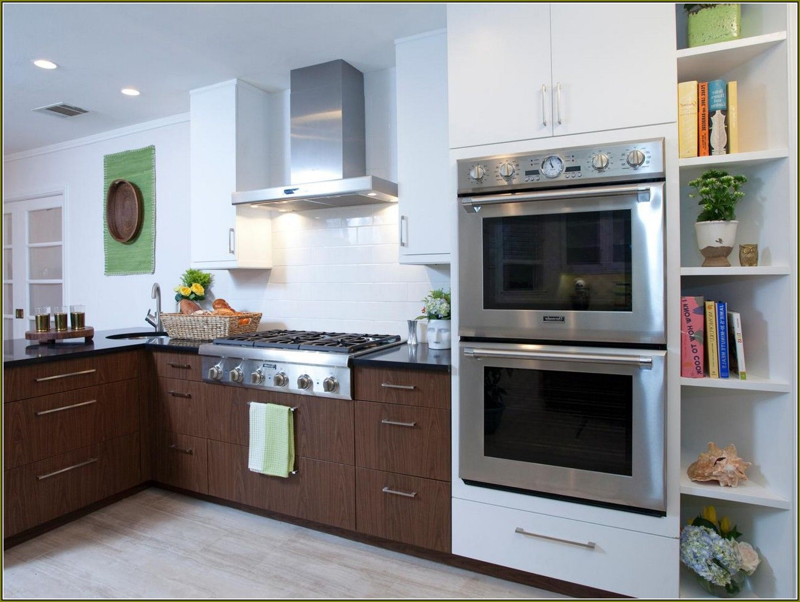 Double Oven Cabinet Home Depot Home Design Ideas Oven Cabinet Wall Oven Double Oven
