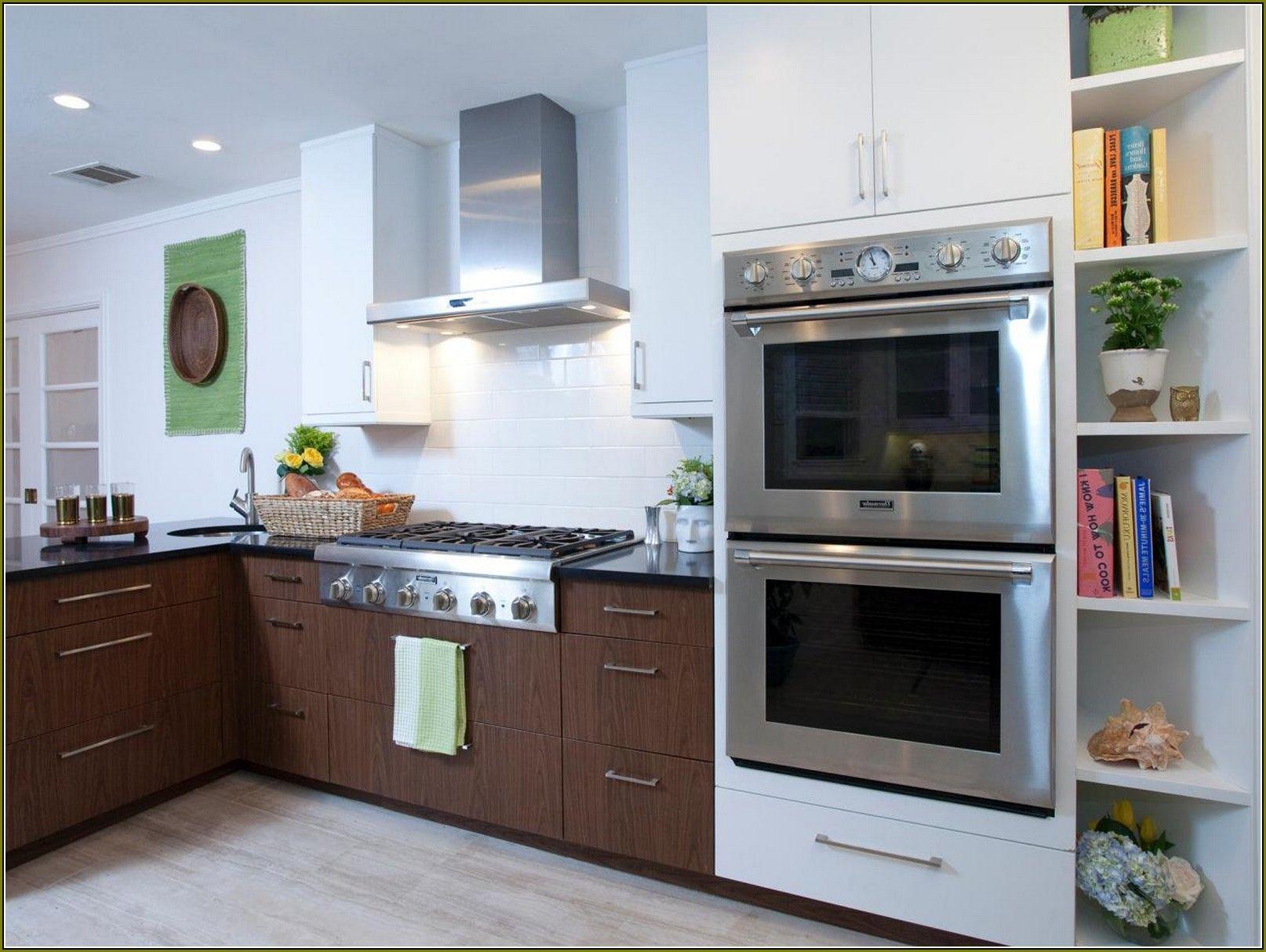 Küchenschränke in der garage  schöne doppel backofen küche ideen bilder  ziehen sie heraus
