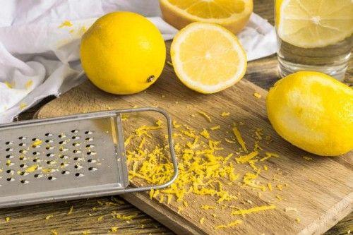 Zitronenschale ist so lecker: Rezeptideen! – Super Rezepte