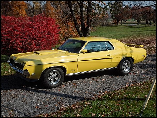 1969 mercury cougar boss 302 eliminator for sale by mecum auction mot rhead pinterest. Black Bedroom Furniture Sets. Home Design Ideas