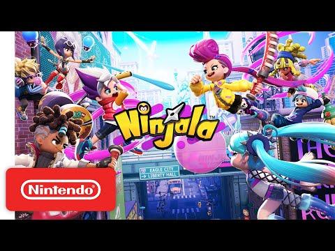 New Games Ninjala Nintendo Switch Online Battle Game Nintendo Switch Battle Games Nintendo