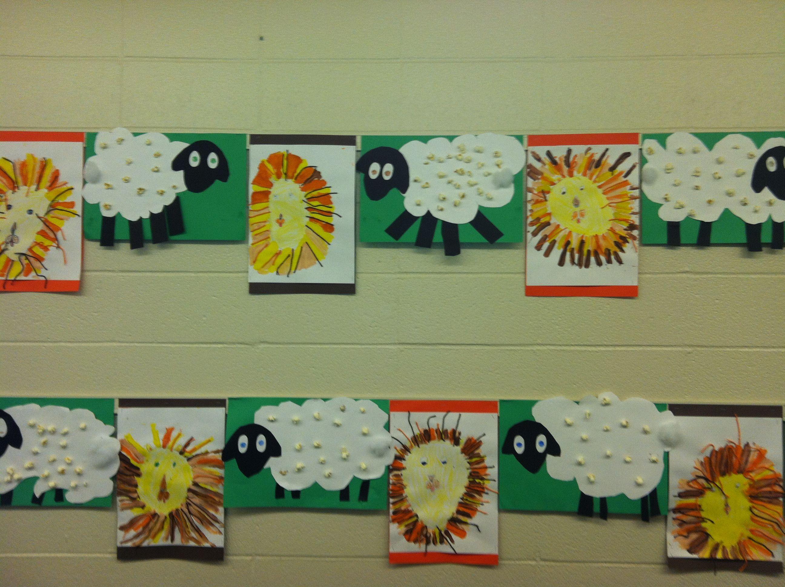 Lamb Art Projects For Preschoolers
