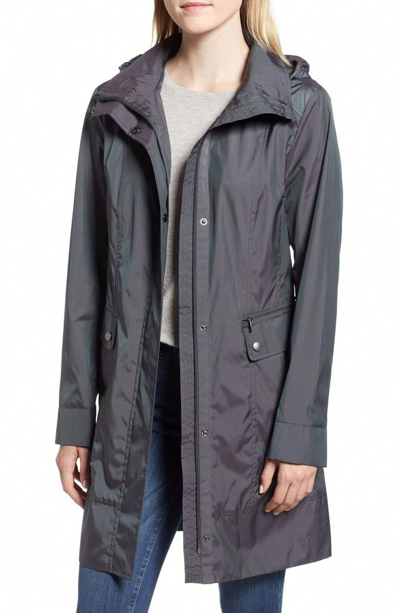 Free shipping and returns on Cole Haan Signature Back Bow Packable Hooded  Raincoat (Regular  amp 077074902