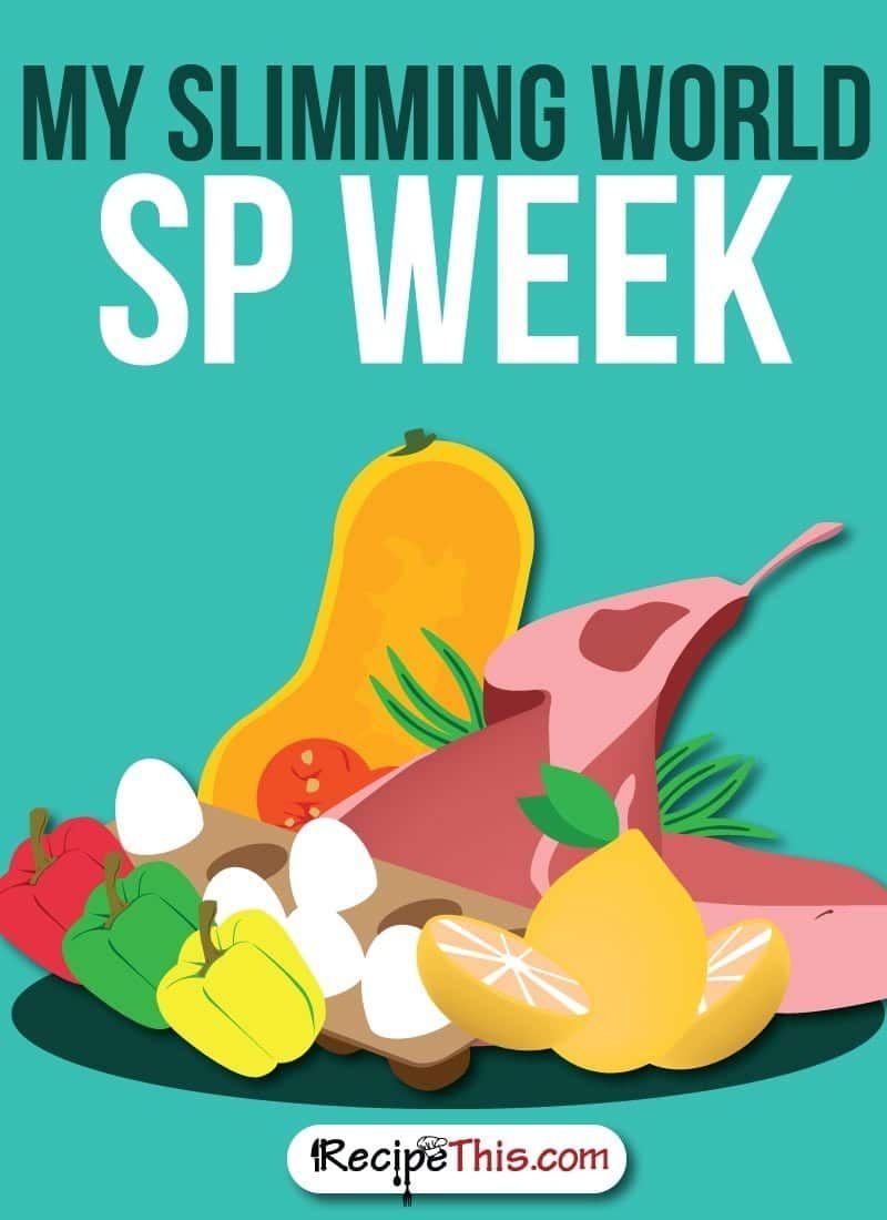 My Slimming World SP Week