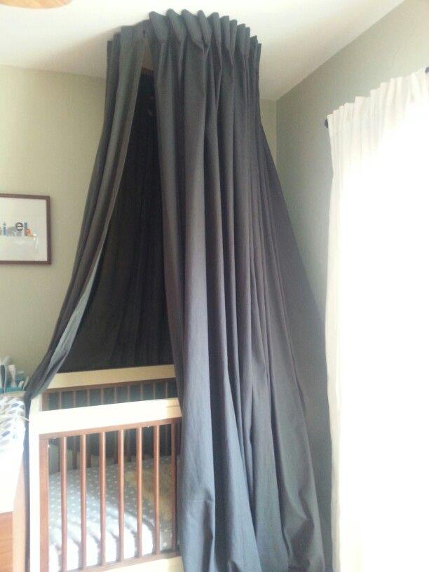 Blackout Crib Canopy Crib Canopy Baby Canopy Baby Nook