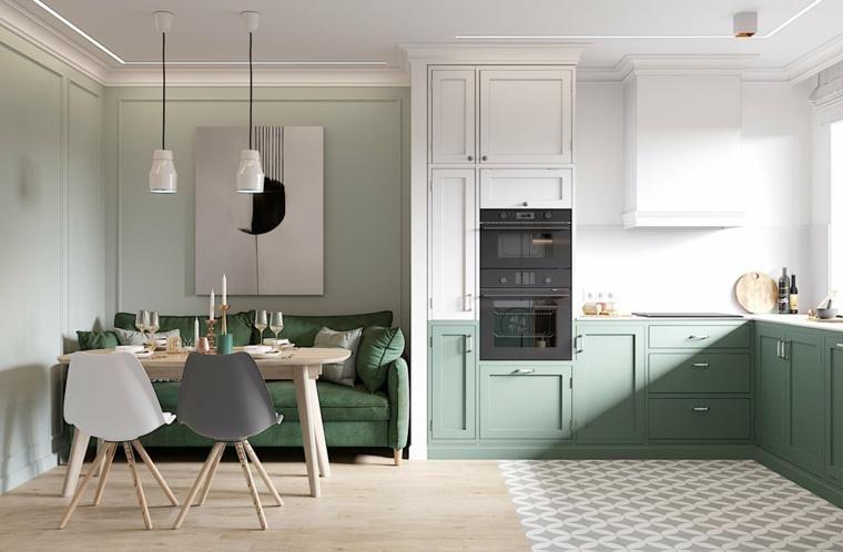Offene Küchen zum Wohnzimmer - Ideen für Design und Dekoration - ideen offene kuche wohnzimmer