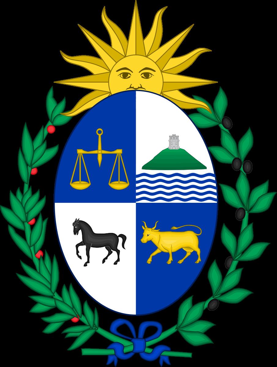 Berkas Coat Of Arms Of Uruguay Svg Lambang Negara Artis