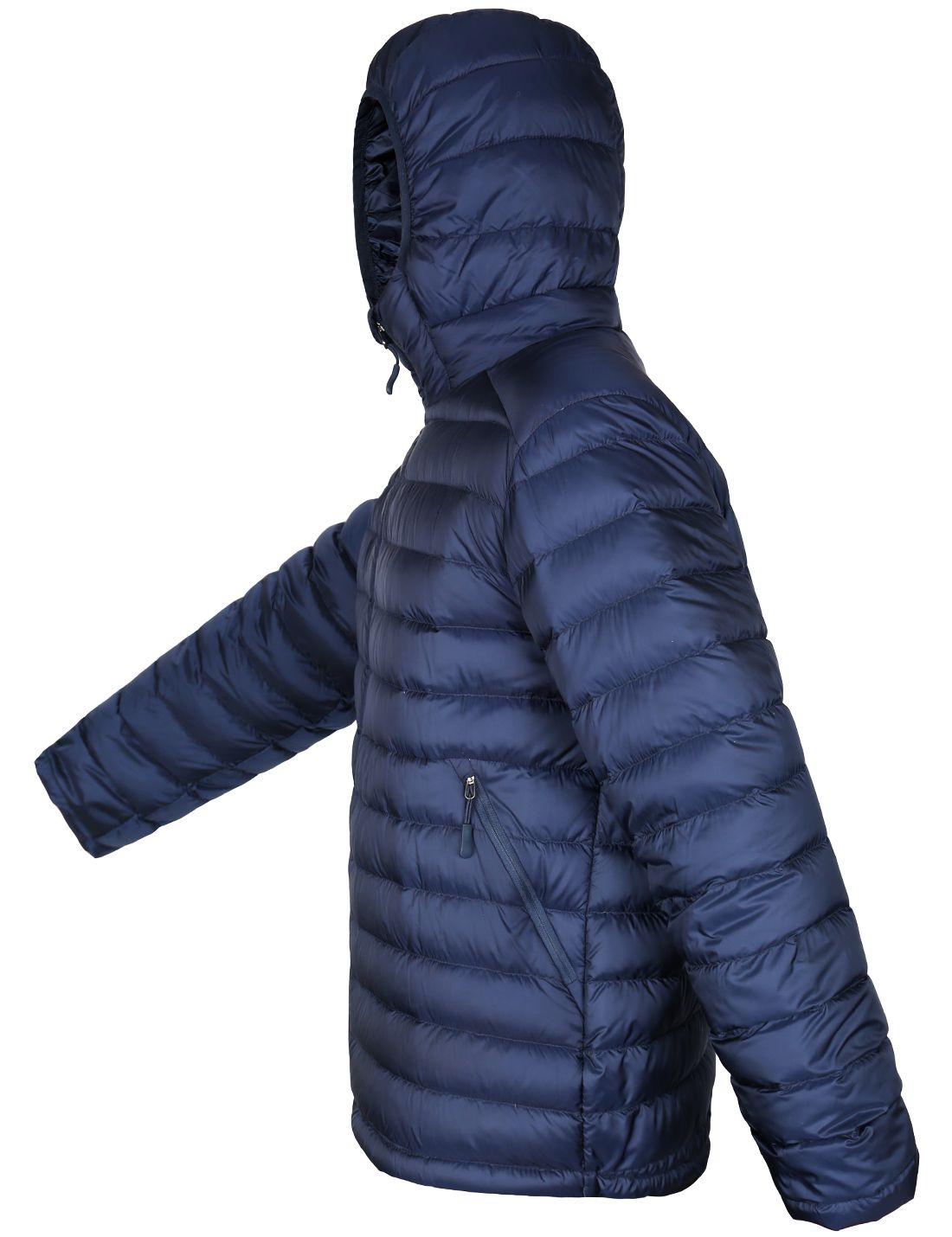 Lesmart Men S Hooded Puffer Down Coat With Images Down Jacket Jackets Windproof Jacket