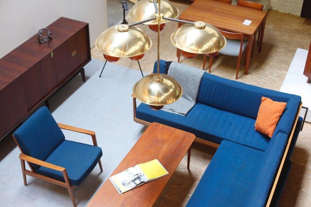 sofa daybed teak sideboard danish vintage tisch 60er sessel regal in berlin lichtenberg ebay. Black Bedroom Furniture Sets. Home Design Ideas
