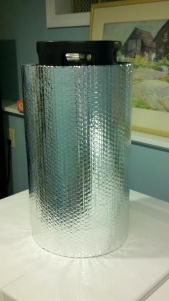 Diy Corny Keg Chilling Insulator Home Brew Forums