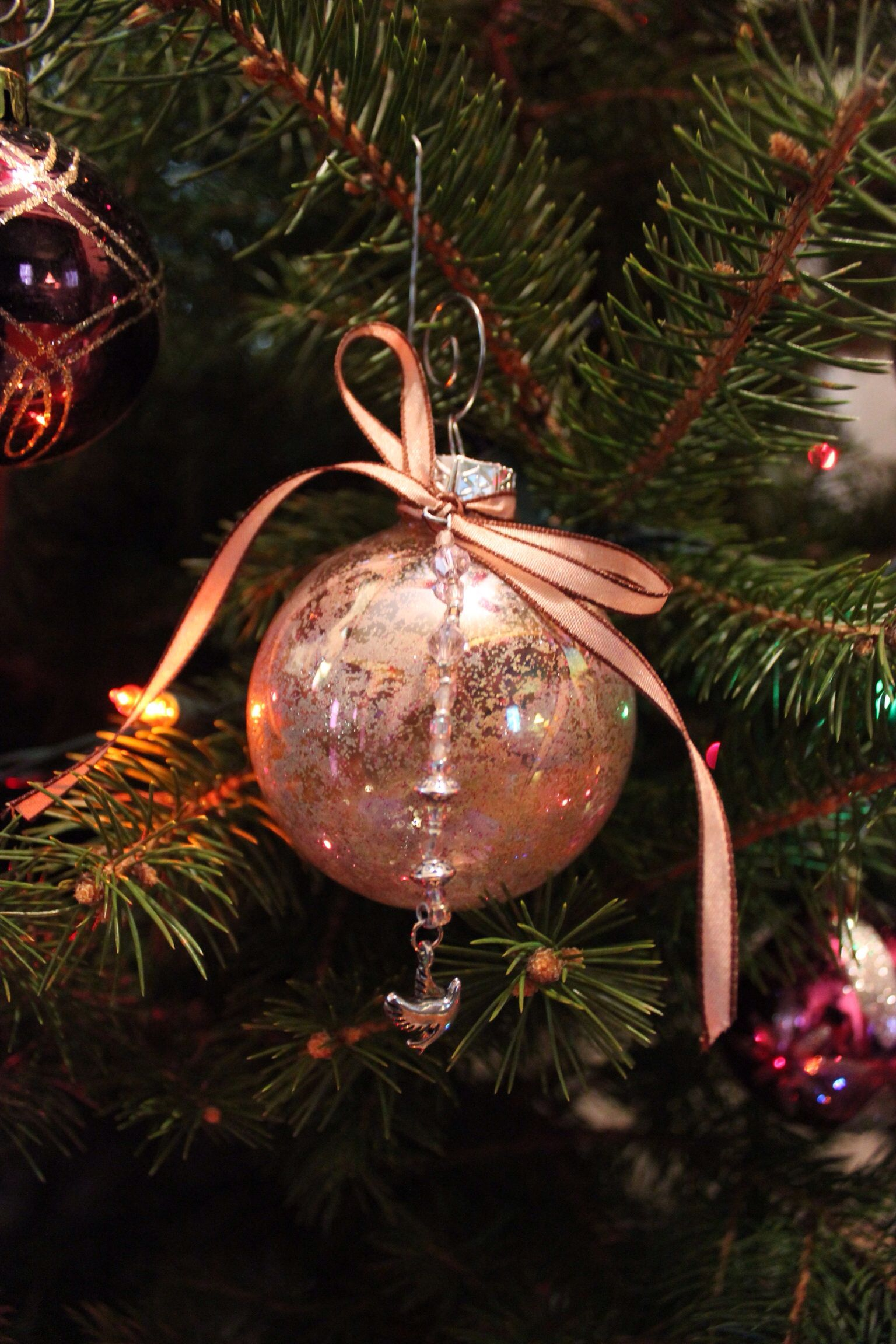Handmade Christmas Ornament Made By Me