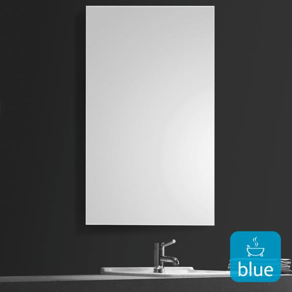 Watertec 700mm Rectangular Bathroom Mirror With Images Rectangular Bathroom Mirror Bathroom Mirror Mirror